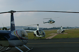 Helicopter charter in South Africa